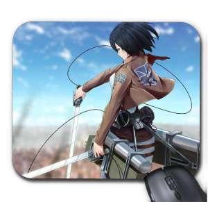 Tapis de Souris Attack On Titan Mikasa Sword