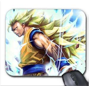 Tapis de Souris Dragon Ball Z Goku Super Saiyan 3