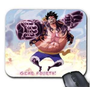 Tapis de Souris One Piece Luffy Gear 4