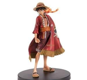 Figurine One Piece Luffy Flag