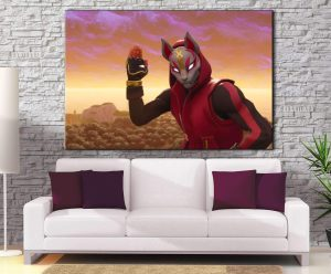 Décoration murale Fortnite Drift Mask