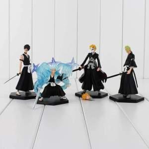 Lot de 4 Figurines Bleach