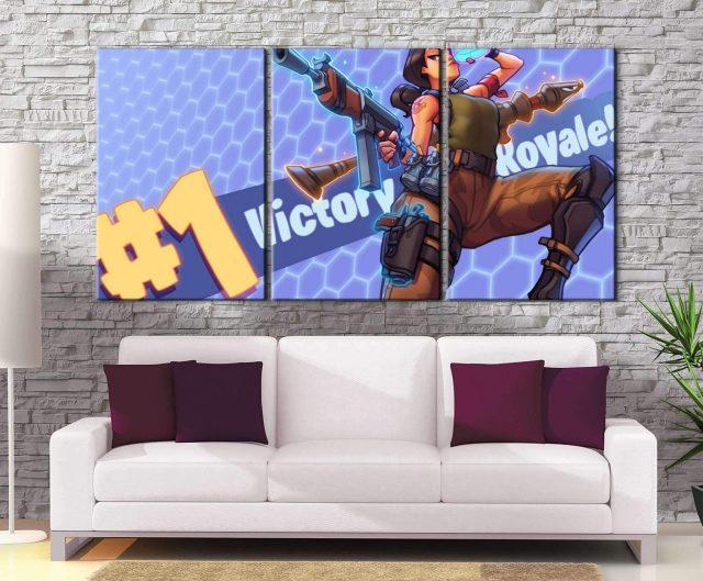 Décoration murale Fortnite Victory
