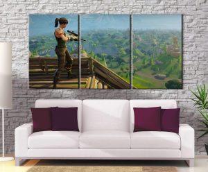 Décoration murale Fortnite Sniper