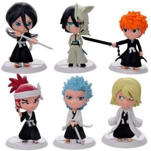Lot de 6 Figurines Bleach