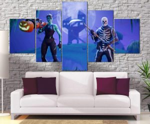 Décoration murale Fortnite Haloween Skin
