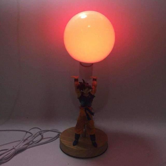 Lampe Dragon Ball Goku Genkidama en 4 couleurs