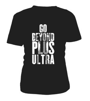 T Shirt Femme My Hero Academia Go Beyond Plus Ultra