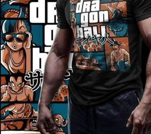 T Shirt Dragon Ball GTA
