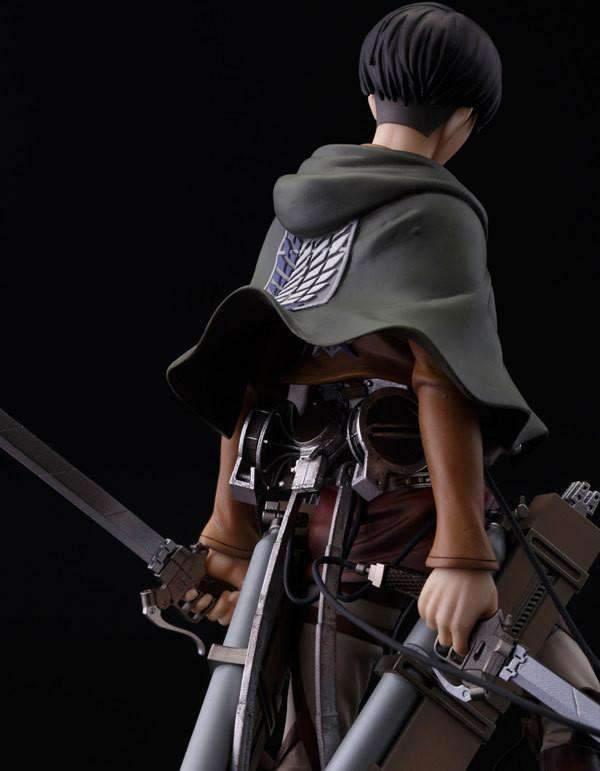 Figurine L'attaque des Titans Rivaille