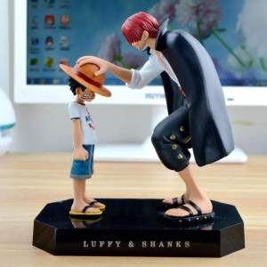 Figurine One Piece Luffy X Shanks
