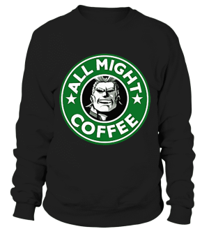 Sweat Classique My Hero Academia All Might Coffee