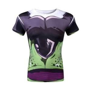 T Shirt 3D All Over Dragon Ball Z Cell