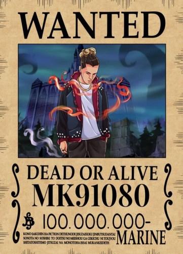 Affiche Wanted Avis De Recherche One Piece Personnalisée photo review