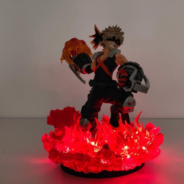 Lampe Led My Hero Academia Deku ou Bakugo