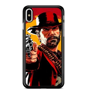 Coque Red Dead Redemption 2 Arthur Morgan Gun