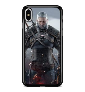 Coque The Witcher Loup Blanc