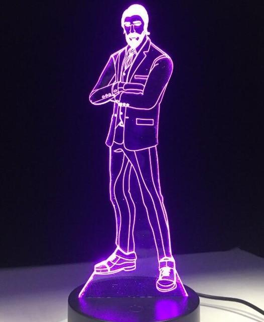 Lampe LED Fortnite Suit Skin