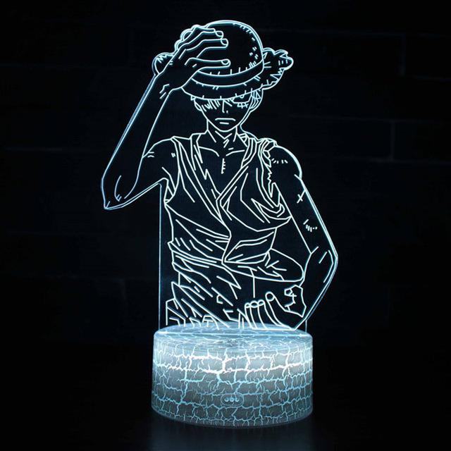 Lampe Led One Piece Luffy Ready To Fight