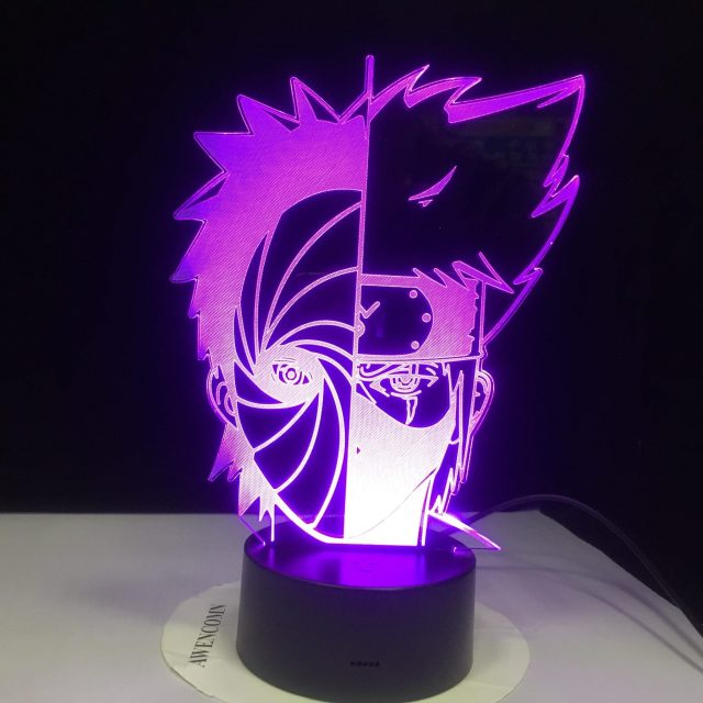 Lampe Naruto Kakashi VS Obito