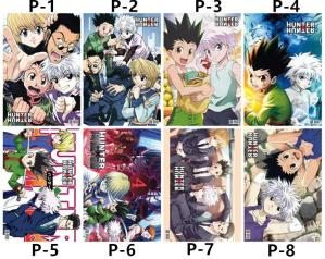 Lot de 8 postes Hunter X Hunter