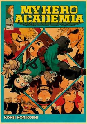 Poster My Hero Academia Powers