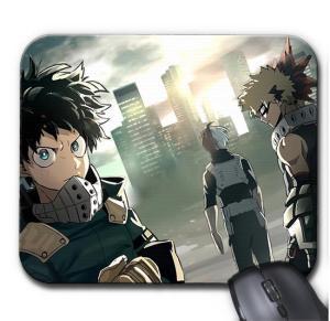 Tapis de Souris My Hero Academia Deku X Katsuki Battle