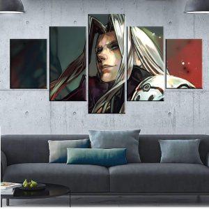 Décoration murale Final Fantasy 7 Sephiroth