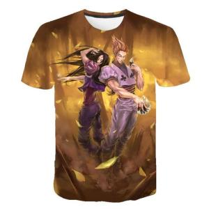 T Shirt 3D Hunter X Hunter Hisoka X Illumi
