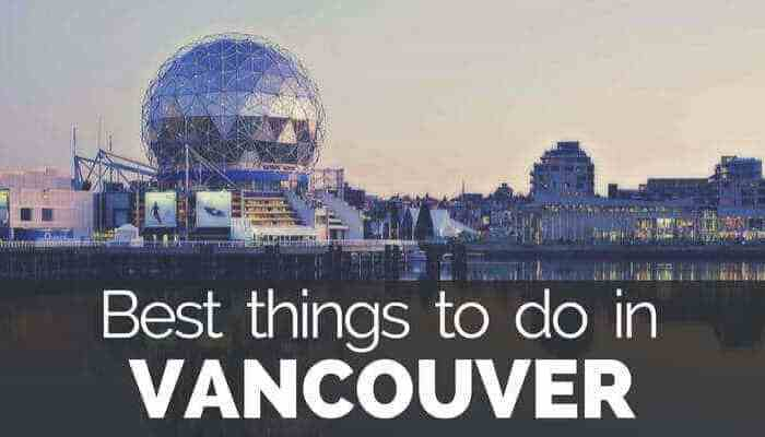 Read here what to do in Vancouver and find Vancouver points of interest and Vancouver attractions.