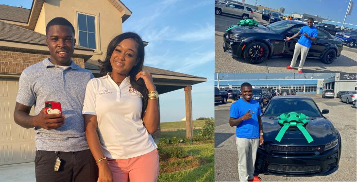 Lady-buys-her-husband-an-expensive-car Lady buys her husband an expensive car (photos/video)