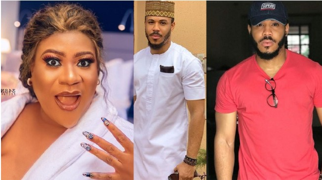 "Screenshot_20200720-111429 ""Never seen a yellow boy this cute"" – Actress Nkechi Blessing gushes over #BBNaija's Ozo"