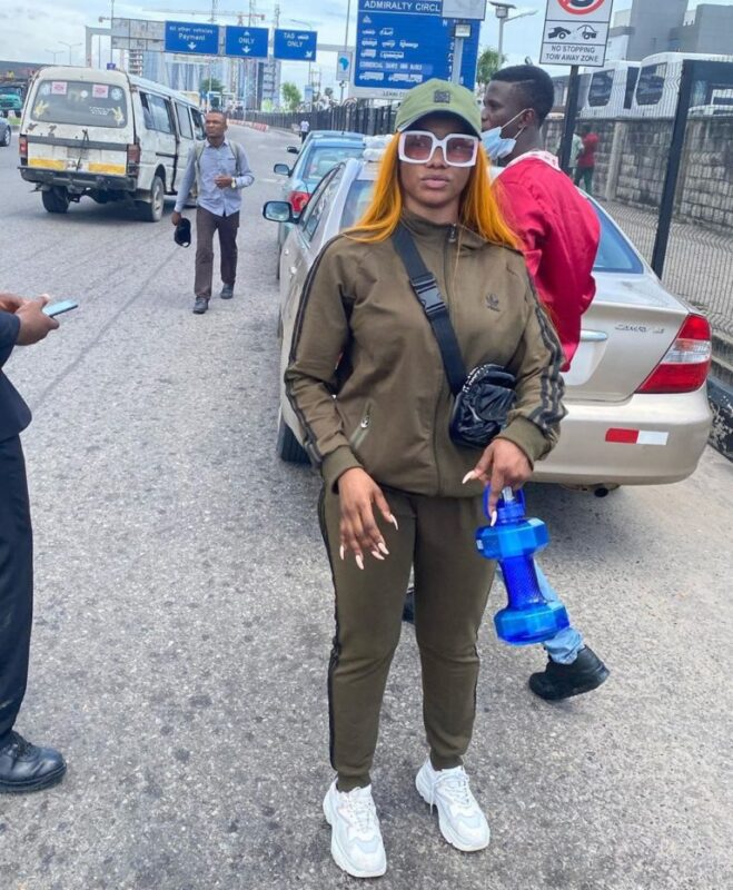 """IMG_20201008_215240_024-768x933-1-659x800 You are one of the problems we are trying to change in Nigeria – Tacha fires back at man who called her """"dirty, smelling girl"""""""