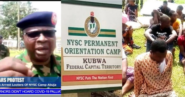 PicsArt_10-27-10.01.13 Soldiers arrest suspects for looting NYSC camp in Abuja