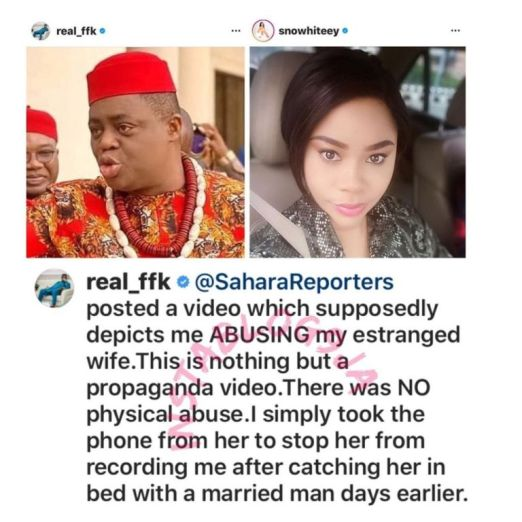 """instablog9ja_20201003_31 """"I caught her in bed with a married man earlier"""" – Ex-Minister of Aviation, Femi Fani-Kayode"""