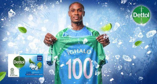unnamed-18 Man Utd's Ighalo Now Brand Ambassador of Dettol Cool