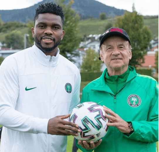 unnamed-4 Joseph Yobo Resumes As New Super Eagles Assistant Coach