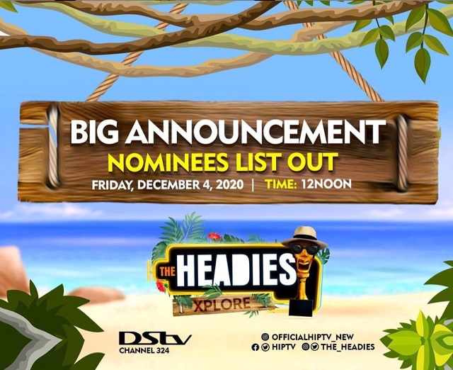 Headies-Nominees-2020 Headies Awards 2020: Check Out Full Nominees List