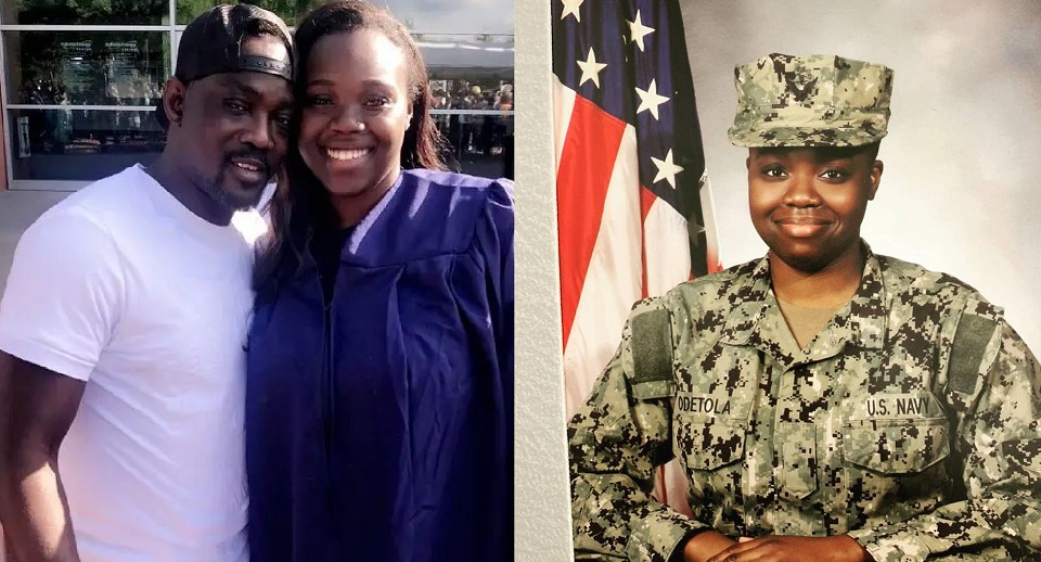 UCScreenshot20201223182245 Fuji Maestro, Pasuma, Celebrates Daughter Who Joined The US Navy [Photos]