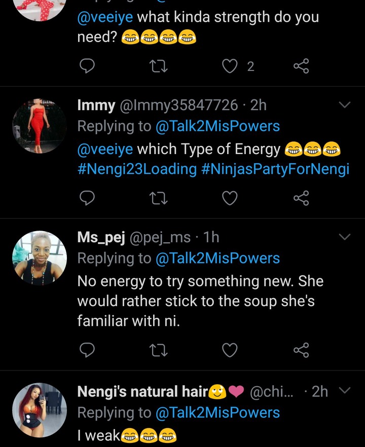 6a0fefe58fc3cb5e293f45f6db47508b Leaked Chat Between Nengi And Vee Sparks Reactions On Social Media