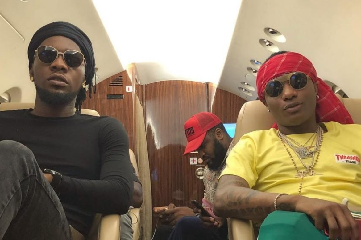 "FotoJet-2020-12-31T165659.372 You Have To Perform 'Abule' At My Wedding"" – Wizkid Tells Patoranking (Video)"
