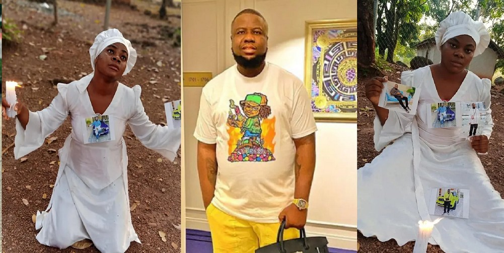 """UCScreenshot20201228140801 'I Was On Mountain Praying For My Boyfriend' – Nigerian Lady Goes On """"30 Days Dry Fasting And Prayers"""" For Hushpuppi"""