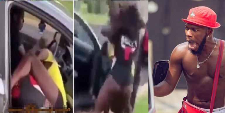 UCScreenshot20210105161027 Two Slay Queens Exchange Heavy Blows As The Man They Were Fighting Over Refuses To Separate Them