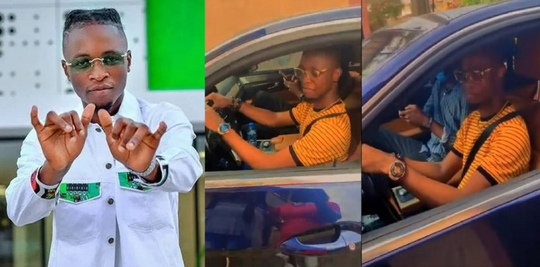 """UCScreenshot20210109120242 """"No go jam person o"""" – Fans react as Laycon Finally Learns How To Drive"""