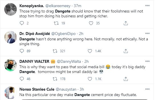 for-ned2 '2020 Was For Ned Nwoko, 2021 Is For Dangote' – Nigerians React To Dangote's Viral Buttocks Video