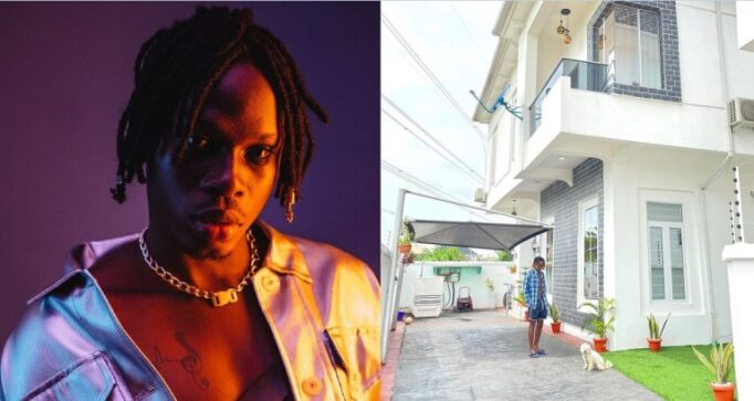 """UCScreenshot20210311204441 """"Beyond Blessed"""" – Fireboy Says as He Flaunts is Multi Millionaire Mansion in Lagos, Olamide React"""