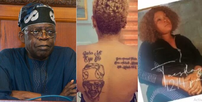 UCScreenshot20210407153337 Man Kicks Wife Out Of His House For Tattooing Tinubu On Her Back [VIDEO]