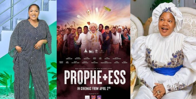 """UCScreenshot20210407163413 """"Who De Shout?"""" – Toyin Abraham Brags As Her Movie 'Prophetess' Makes Over N43M In Opening Weekend"""