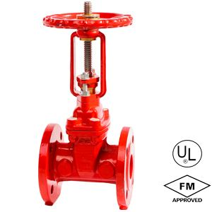 FLANGED OS&Y GATE VALVE CHINA