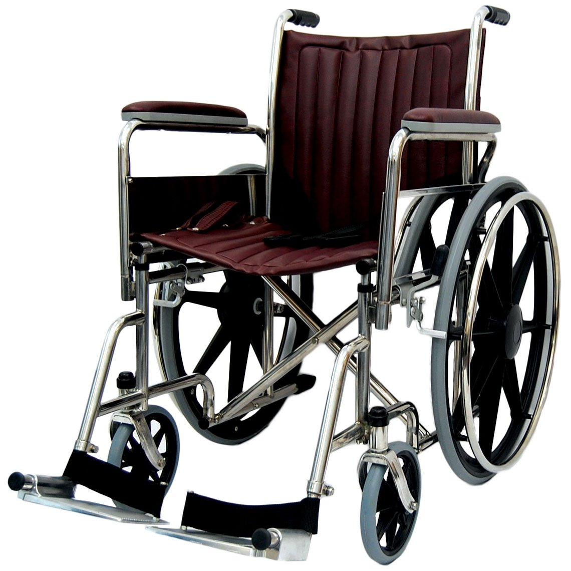 18 Wide Non Magnetic Wheelchair Fixed Footrest Wcm Ff27